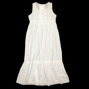 Rachel Ashwell Shabby Chic long white Nightgown